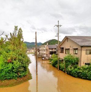 洪水のイメージ